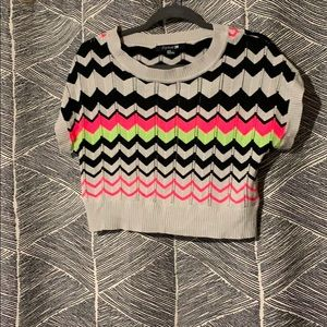 Forever 21 Knit Sweater Crop Top